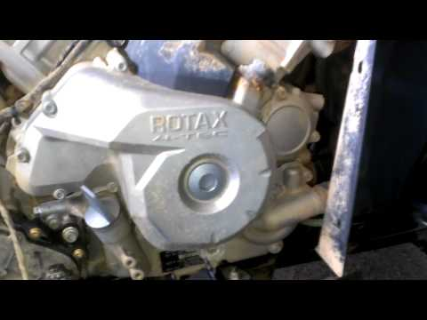 Oil change on 2013 Can Am XMR Part 3 of 3