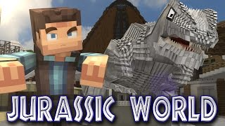 getlinkyoutube.com-Minecraft Parody - JURASSIC WORLD! - (Minecraft Animation)