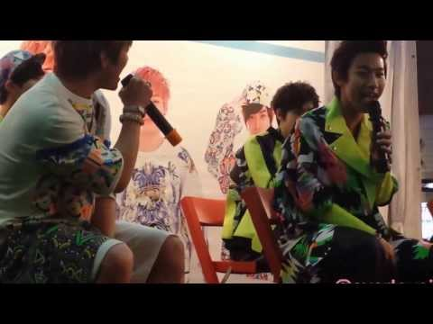 [291113 FANCAM] LC9 One thing Cover at Bugis Square