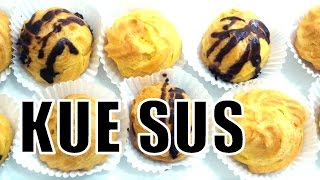 getlinkyoutube.com-Resep Kue Sus Lembut dan Lezat - Profiterole (Cream Puff) Recipe