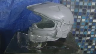 getlinkyoutube.com-halo 4 helmet: molding and casting