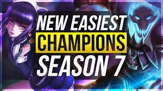 getlinkyoutube.com-NEW EASIEST CHAMPIONS For Season 7 ALL ROLES - League of Legends