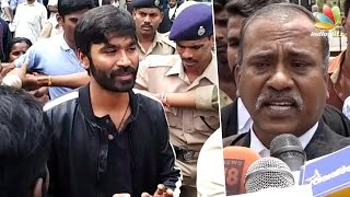 getlinkyoutube.com-Dhanush appeared before Madurai Bench to reject the couple's paternity claim | Kasthuri raja