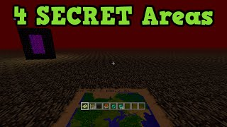 Minecraft Xbox 360 / PS3 - 4 Secret Areas