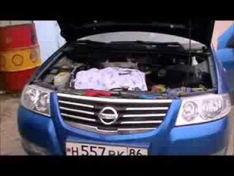 Чистка дроссельной заслонки Nissan Almera Classic