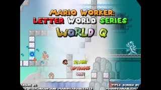 getlinkyoutube.com-Mario Worker: Letter Worlds Series - World Q