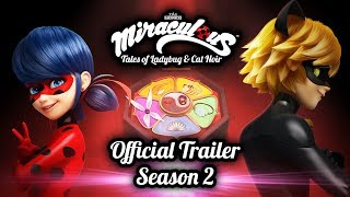MIRACULOUS | 🐞 OFFICIAL TRAILER SEASON 2 🐞 | Tales of Ladybug and Cat Noir