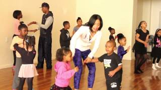 getlinkyoutube.com-Heaven and Tianne King's Mommy and Me Dance Classes!