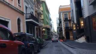 getlinkyoutube.com-Driving through Old San Juan! May 19, 2014