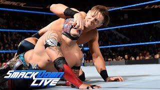 getlinkyoutube.com-Kalisto vs. The Miz - Intercontinental Championship Match: SmackDown LIVE, Nov. 22, 2016