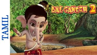 getlinkyoutube.com-Bal Ganesh 2 - Lord Ganesha Punishes The Cat - Favourite Kids Animated in tamil