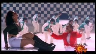 Rambha swimsuit show in tamil movie ullathai alli tha   hot songs