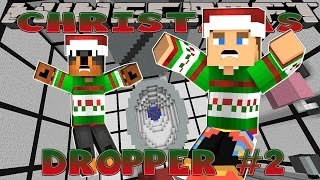 getlinkyoutube.com-Minecraft Christmas - Little Donny - THE DROPPER CHRISTMAS WARS #2 w/ Donut the Dog