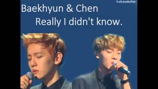 [ AUDIO+ DL ] EXO Baekhyun & Chen - Really I Didn't Know (Immortal Song)