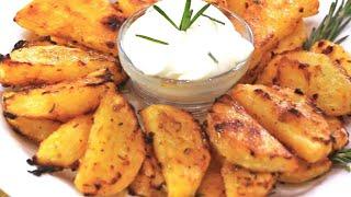 getlinkyoutube.com-بطاطس ودجز بالفرن شهية ومميزة الشيف نادية    Recette Potato wedges