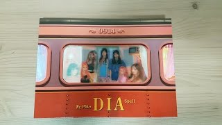 getlinkyoutube.com-Unboxing DIA 다이아 2nd Mini / 3rd Album Spell (Limited Edition)