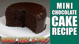 getlinkyoutube.com-Easy Mini chocolate cake recipe