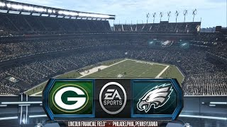 getlinkyoutube.com-Madden NFL 16 - Green Bay Packers vs Philadelphia Eagles - Gameplay [ HD ]