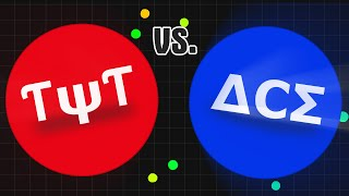 ƬψƬ vs. ΔCΣ ♠ Clan // Agario Clanwar // Agar.io Gameplay