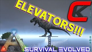 getlinkyoutube.com-ARK: Survival Evolved - Patch 214 - ELEVATORS!!!