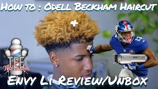getlinkyoutube.com-HOW TO CUT: ODELL BECKHAM JR's HAIR (cordless) W/ ANDIS ENVY Li & review 4K