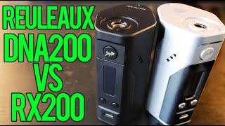 Reuleaux DNA200 vs RX200! ~ Wismec