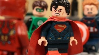 getlinkyoutube.com-Lego Justice League vs The Avengers