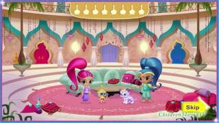 getlinkyoutube.com-New Nick Jr. Game Shimmer and Shine Genie Palace Divine Full HD Video for Little Kids