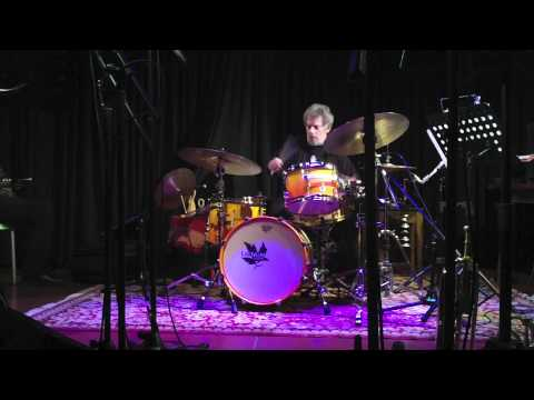 Lou Grassi at De Singer jazzclub (B)