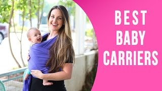getlinkyoutube.com-7 Best Baby Carrier For Newborn and Growing Babies & How To Use Them
