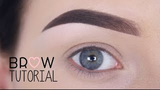 getlinkyoutube.com-Brow tutorial / using Anastasia Beverly Hills - MAKEUPBYAN