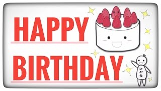 getlinkyoutube.com-Happy Birthday (Original Song) - Hikaru Shirosu