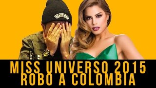 getlinkyoutube.com-Miss Universo 2015 Robo a Colombia