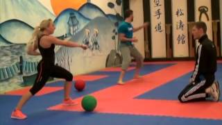 getlinkyoutube.com-2014: Champions Dojo, Training with Emma Lucraft