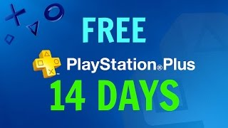 getlinkyoutube.com-How To Get FREE 14 Days of Playstation Plus - WORKS