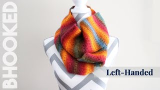 Knit Alike Tunisian Crochet Scarf Tutorial: Left Hand