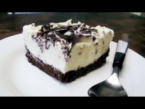 DOUBLE CHOCOLATE CHEESECAKE SLICE