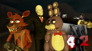getlinkyoutube.com-Slendy vs Animatronics | Left 4 Dead 2 Fazbear's Fright