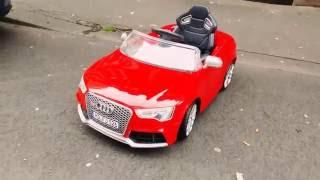 Audi rs5 kinderauto