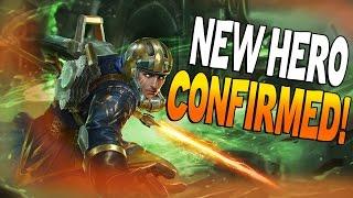 getlinkyoutube.com-Vainglory - NEW HERO IDRIS CONFIRMED! Idris All Abilities in Vainglory!