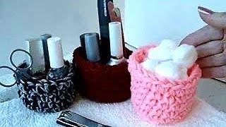getlinkyoutube.com-CROCHET BOWL OR BASKET, how to, crochet pattern