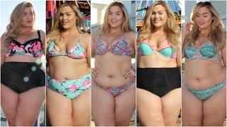 getlinkyoutube.com-Plus Size Bikini Lookbook   Target 2016
