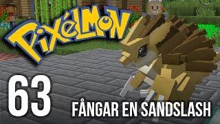 getlinkyoutube.com-Fångar en Sandslash - Minecraft Pixelmon   #63