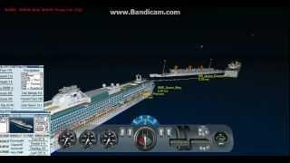 getlinkyoutube.com-Virtual Sailor: RMS Queen Mary, MS Queen Elizabeth, And Rescue Ship Island Princess Sink