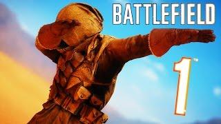 getlinkyoutube.com-Battlefield 1 - Random & Funny Moments #7 (How To Avoid Tanks, Hilarious Duels!)