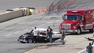 getlinkyoutube.com-INSANE 55 Chevy Crash – Driver Walks AWAY!