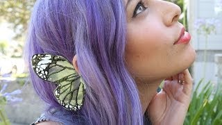 getlinkyoutube.com-Butterfly Wing Ear Cuff ♥ DIY
