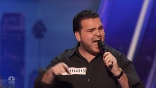 getlinkyoutube.com-America's Got Talent 2016 Sal Valentinetti Channels Frank Sinatra Full Audition Clip S11E03