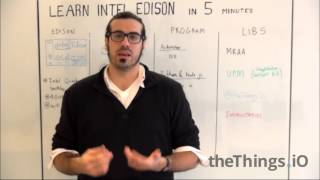 getlinkyoutube.com-Learn Intel Edison in 5 minutes #iotfriday