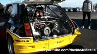 getlinkyoutube.com-Renault 5 Maxi Turbo: pure sound, start up, revs and track